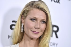 FILE - In this Oct. 29, 2015, file photo, Gwyneth Paltrow arrives at a gala in Los Angeles. In an announcement made Tuesday, Sept. 4, 2018, Paltrowâ¿¿s lifestyle company Goop has agreed to pay $145,000 in civil penalties over products including egg-shaped stones that are meant to be inserted into the vagina to improve health. (Photo by Jordan Strauss/Invision/AP, File)