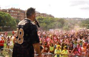 Festa de colors per celebrar el Dia de l'Orgull LGTBI+ a Viladecans
