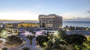 El Hotel Meliá de La Habana.