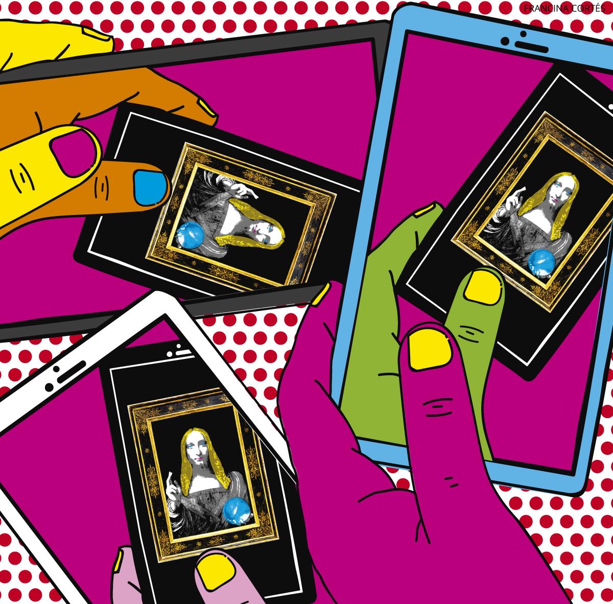 Warhol, Marilyn y las pantallas