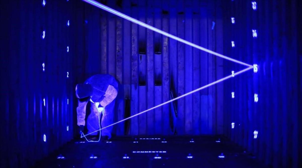 Imagen de experimentación deDomestic Data Streamers, que colaborará con Spotify en el Sónar+D.