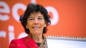 La portavoz del Gobierno y ministra de Educación, Isabel Celaá