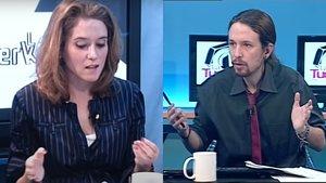 Las redes rescatan un vídeo de cuando Isabel Díaz Ayuso era colaboradora de Pablo Iglesias