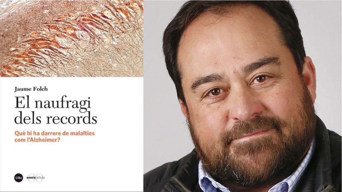 El bioquimico Jaume Folchautor de El naufragi dels records(Edicions de la Universitat de Barcelona, 2018)