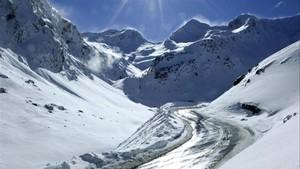 Zona del Pirineo cercana al Túnel de Bielsa.