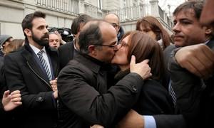 Procés per rebel·lió i presó sense fiança per a la cúpula independentista