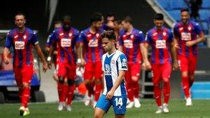 Un Espanyol rendit encadena la seva vuitena derrota contra l'Eibar