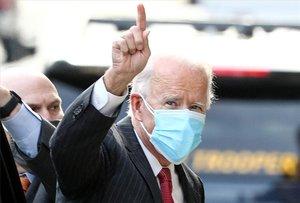 Joe Biden, presidente electode los EEUU.