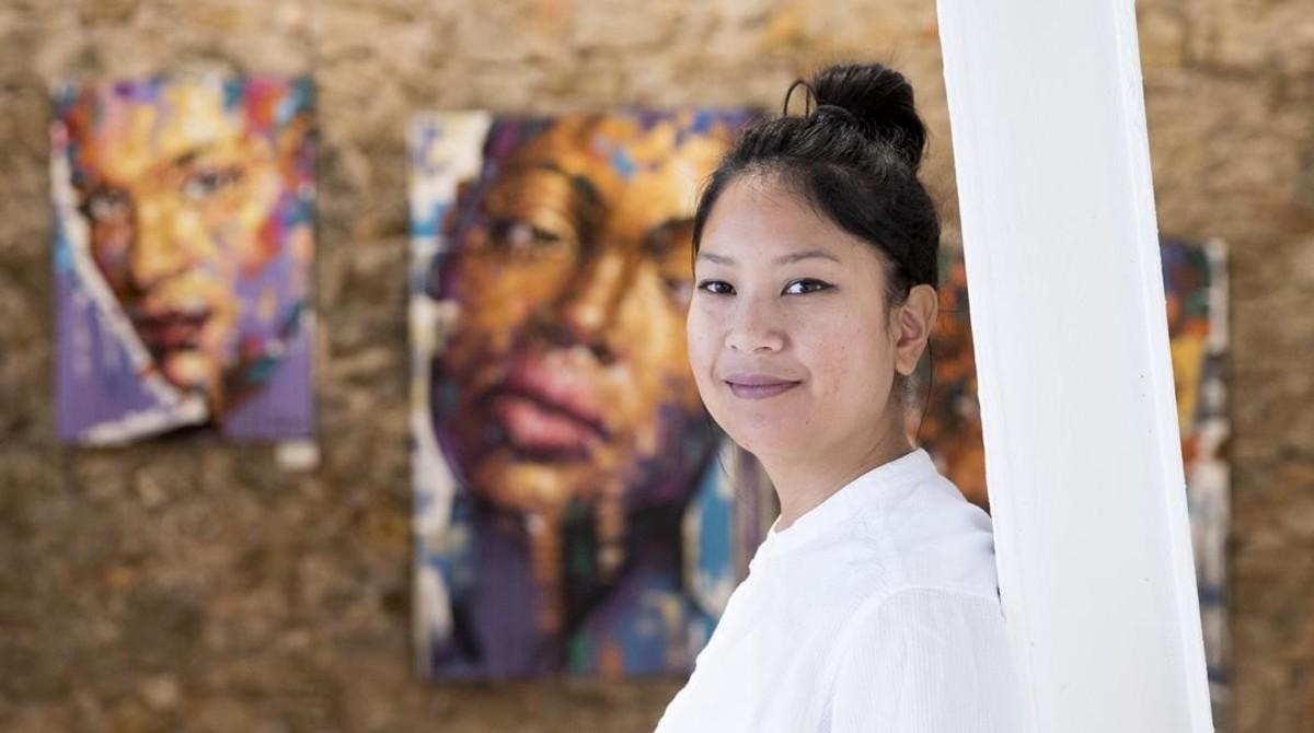 Sofía Sánchez, responsable de la galería Magnet, especializada en arte cubano.