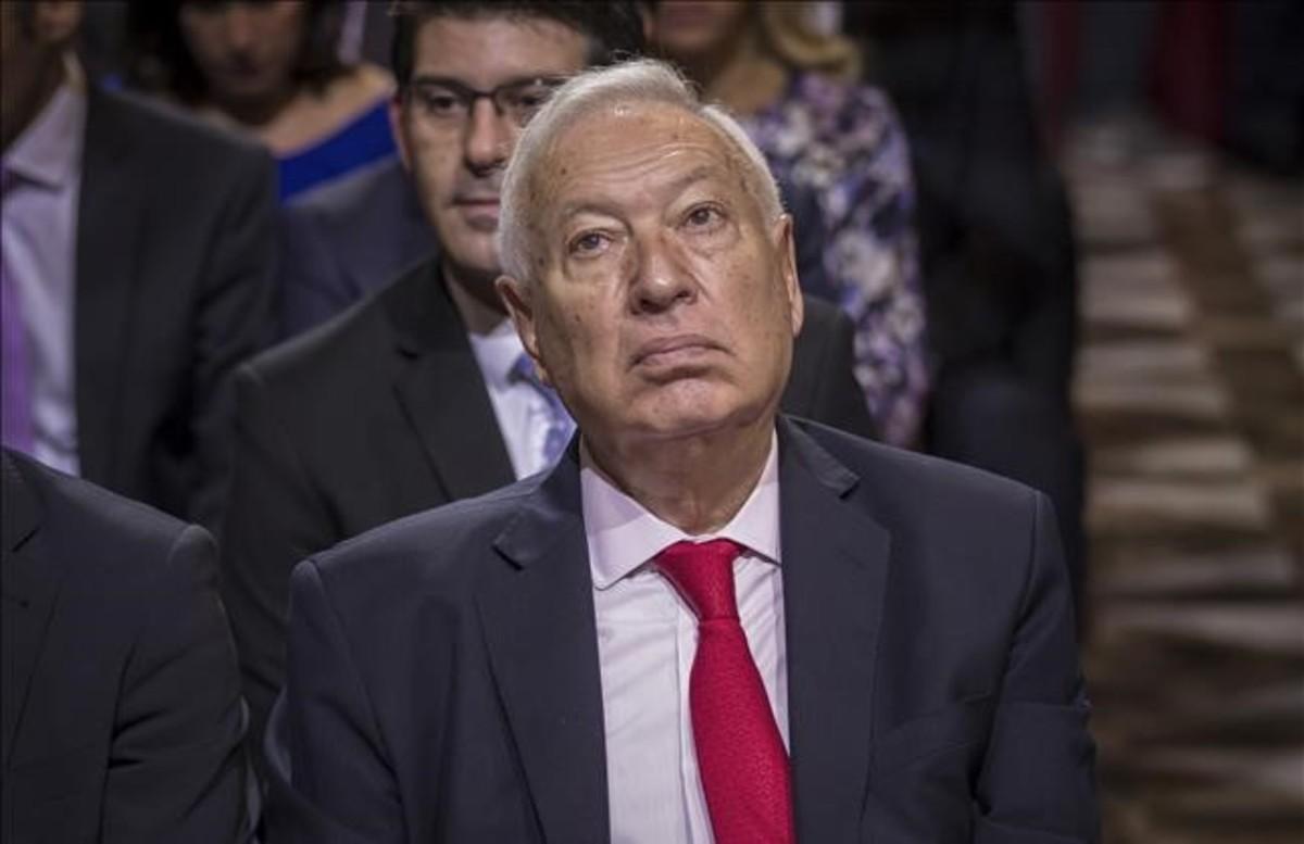 El exministro de Asuntos Exteriores,José Manuel García-Margallo.