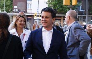 El alcaldable por Barcelona, Manuel Valls.
