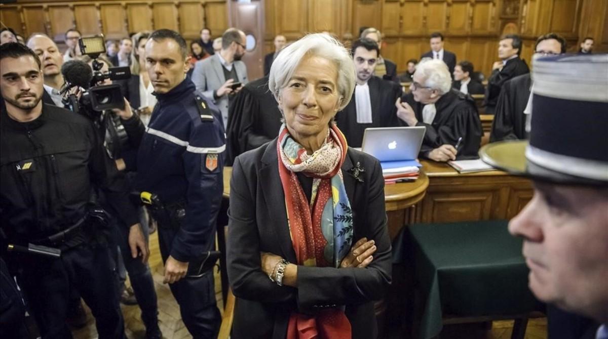 Lagarde, declarada culpable de negligència per la indemnització a Tapie