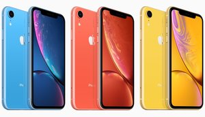 Los iPhone XR.