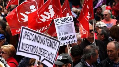 Los sindicatos toman la calle en defensa del alza de los salarios