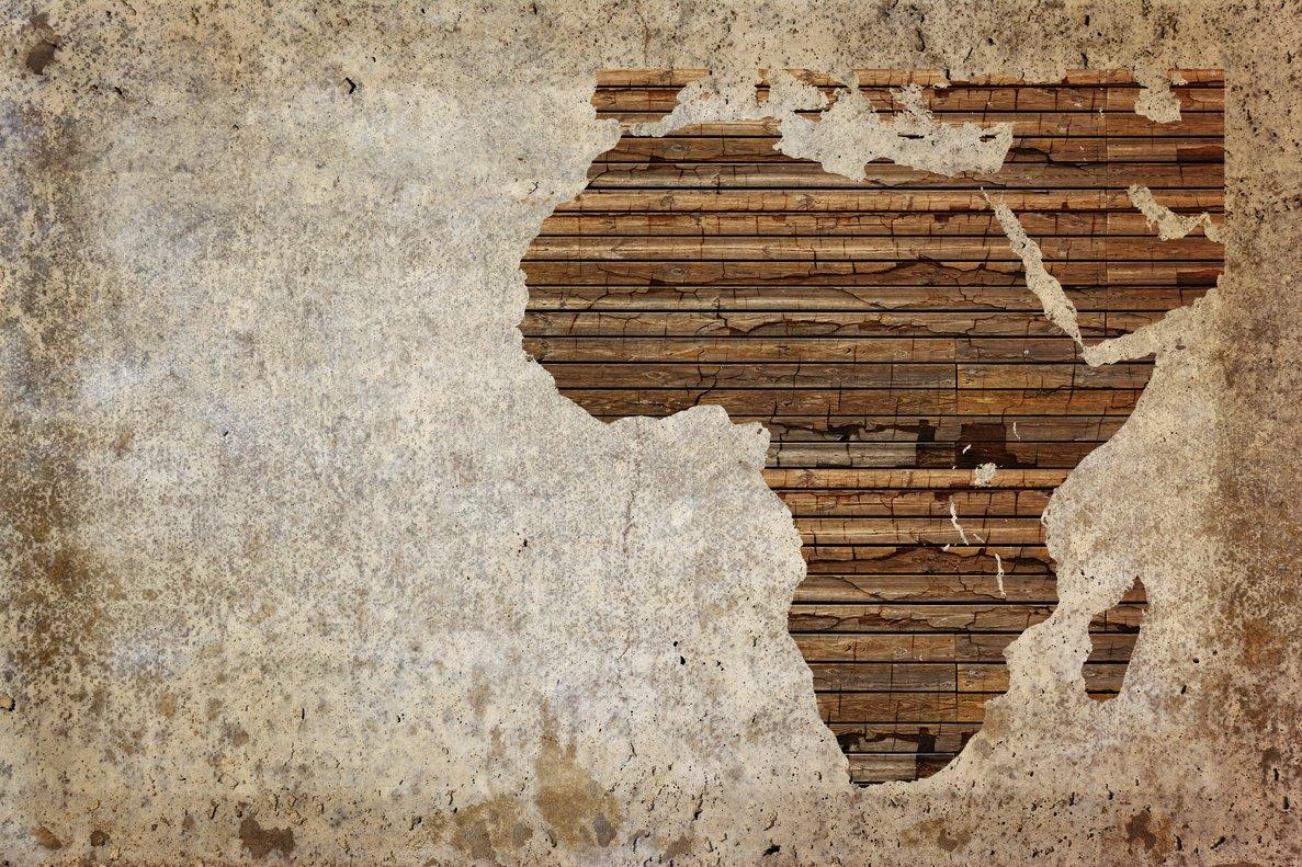 Un mapa de África.