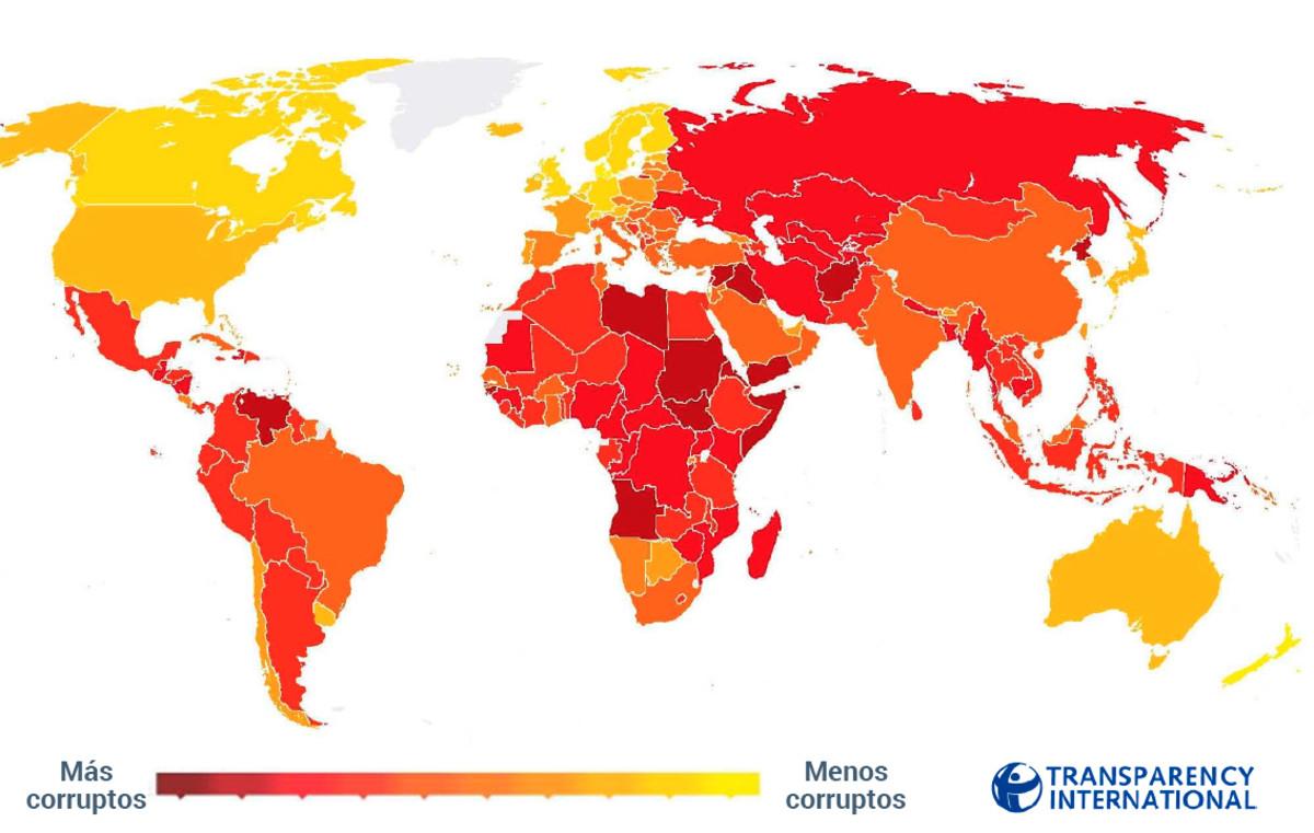 España se anota su peor registro en percepción de corrupción