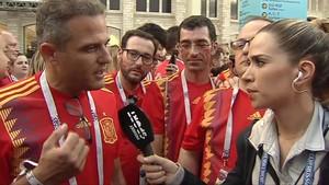 El golazo de María Gómez a un aficionado español por un comentario machista