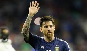 Messi, tras derrotar Argentina a Estados Unidos.
