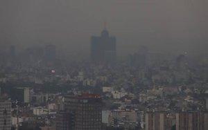 Contaminación ambiental en la Ciudad de México.