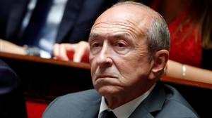 El ministro de Interior francés, Gérard Collomb.
