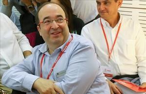 Miquel Iceta, el pasado domingo, en el comité federal del PSOE.