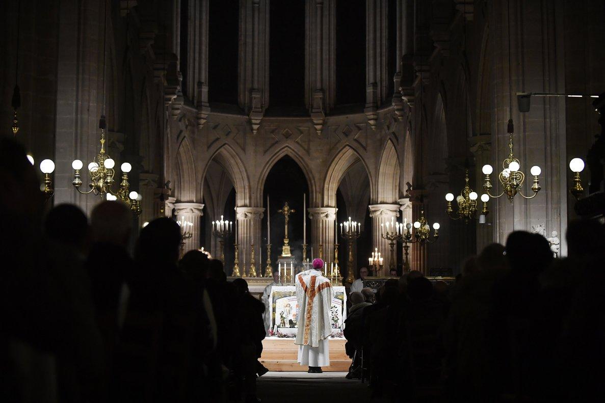 Misa del Gallo en en Saint Germain l'Auxerrois.