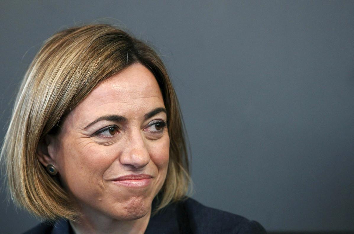 La exministra socialista de Defensa, Carme Chacón.