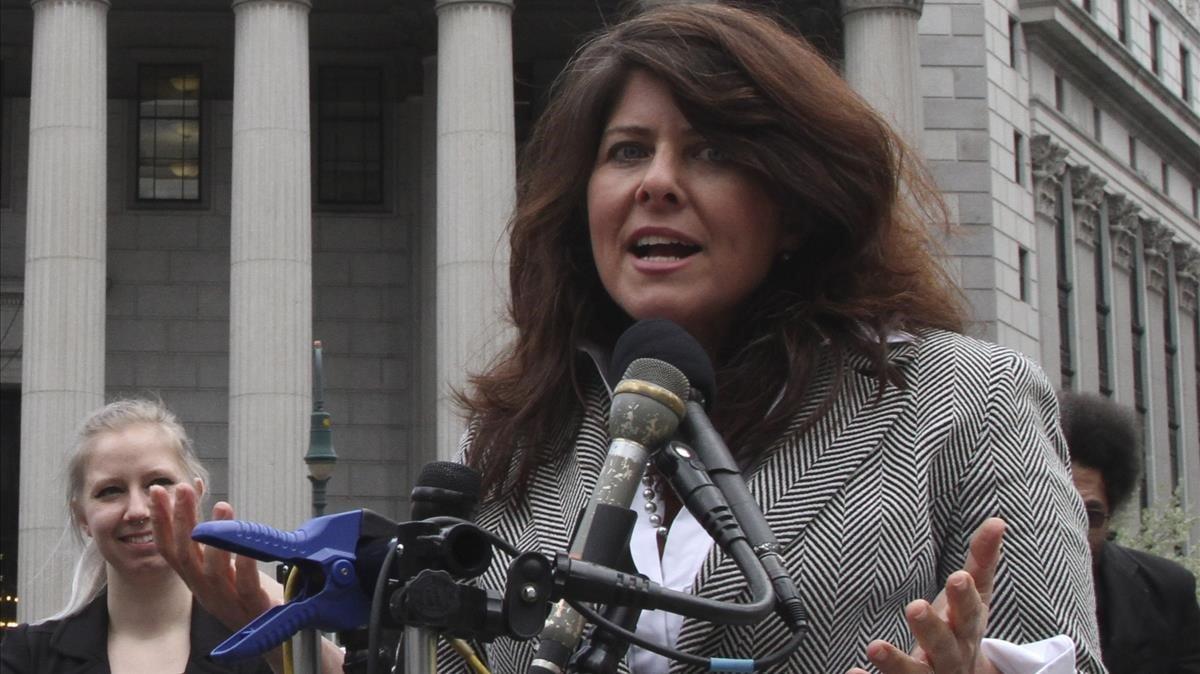 Naomi Wolf, en Nueva York, en el 2012