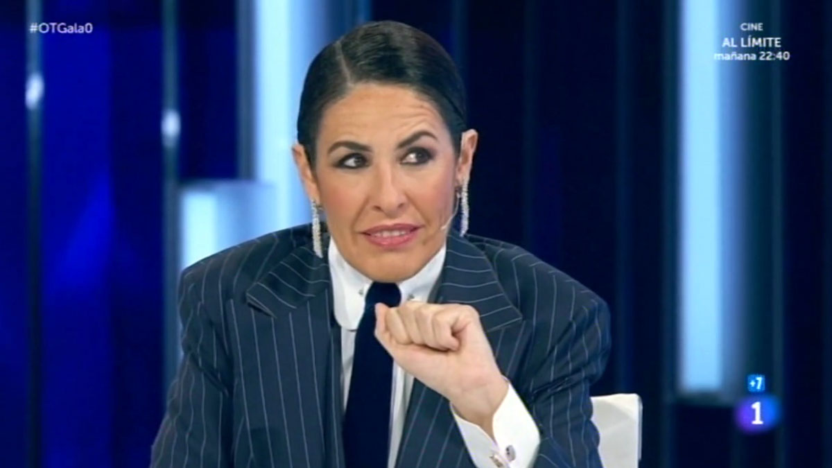 Nina, ahora en calidad de jurado de 'OT.'