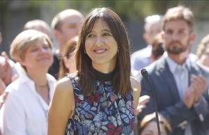 La alcaldesa de Santa Coloma de Gramanet, Núria Parlon.