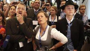 Bufetada a Baviera a la gran coalició