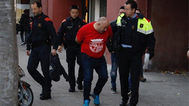 Operación antidroga de los Mossos dEsquadra en Barcelona.