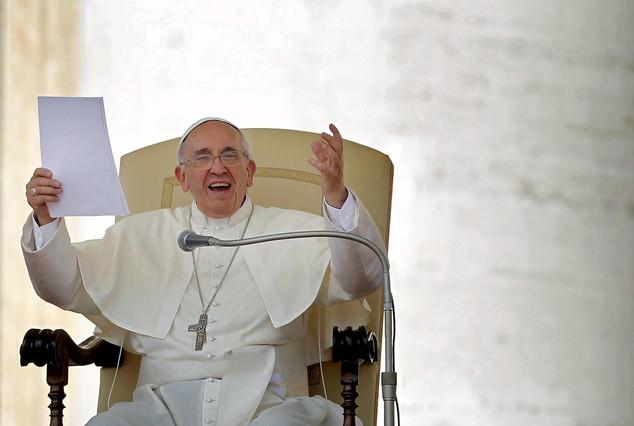 El papa Francisco, en la plaza de San Pedro de El Vaticano.