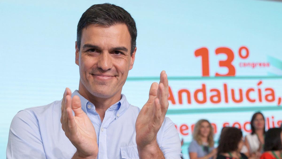Pedro Sánchez reivindica la plurinacionalidad de España en el feudo andaluz de Susana Díaz.