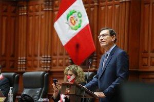 Martín Vizcarra fue destituido como Presidente de Perú.