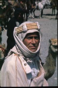 Peter O'Toole, en su papel de coronel T.E. Lawrence en el filme 'Lawrence de Arabia'.