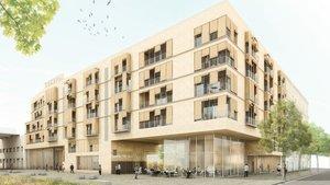 Una aliança entre el sector privat i l'Ajuntament crearà 47 pisos de lloguer protegit al Poblenou