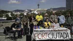 La plataforma del Port Ciutadà.