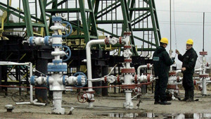 Pozo de petróleo en Siberia.