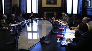 Reunión de la Diputación Permanente del Parlament, el pasado 13 de noviembre.
