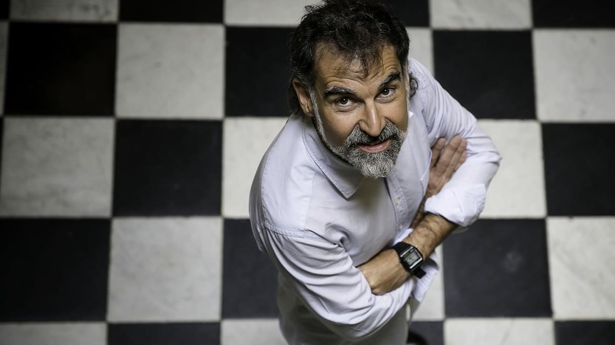 El presidente de Òmnium Cultural, Jordi Cuixart.