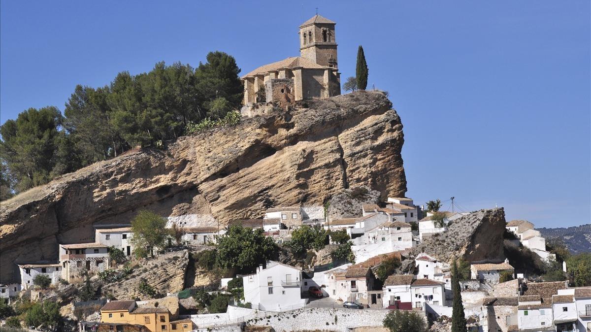 Una imagen de Montefrío.