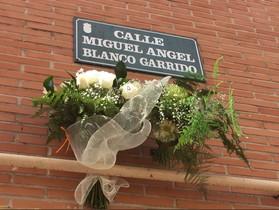Homenaje del PP de Getafe a Miguel Ángel Blanco.