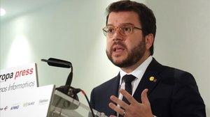 El 'vicepresident' Pere Aragonès.