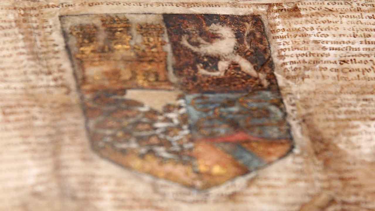 Sale a subasta el escudo de armas que los Reyes Católicos entregaron a Colón