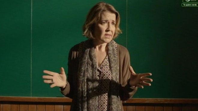 María, profesora dela UB ('Merlí', Movistar).