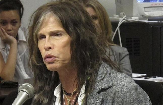 Steven Tyler, líder de Aerosmith.