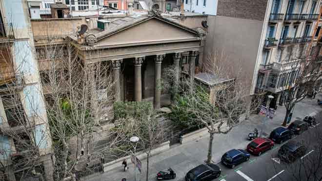 El ayuntamiento de Barcelona ha adquido el edificio.