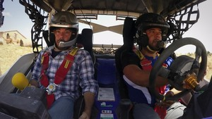 Quim Masferrer (izquierda), en el programa de TV-3 El foraster.