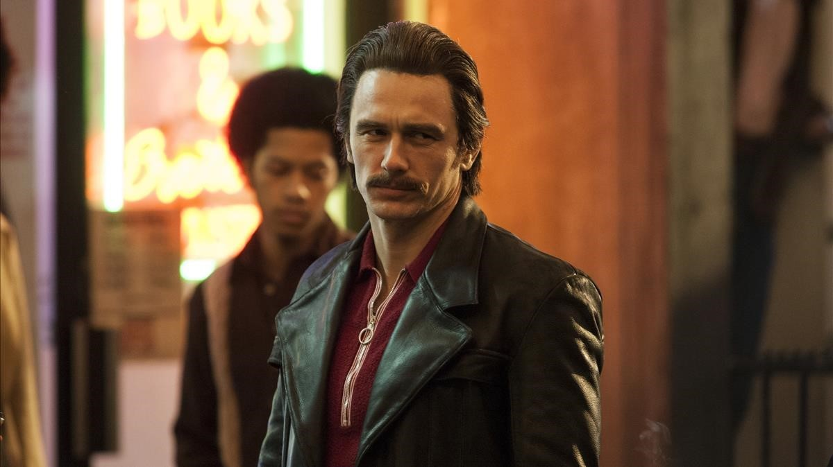 El actor James Franco, en la serie de la cadena HBO 'The Deuce'.